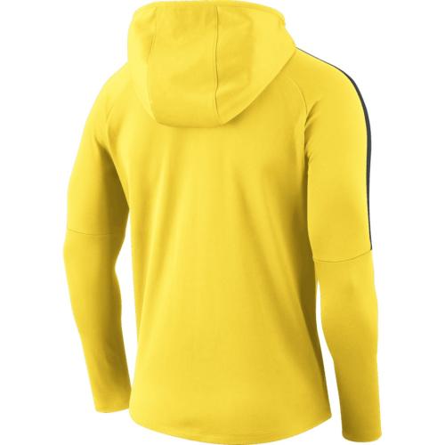 Sweat a capuche jaune Academy 18