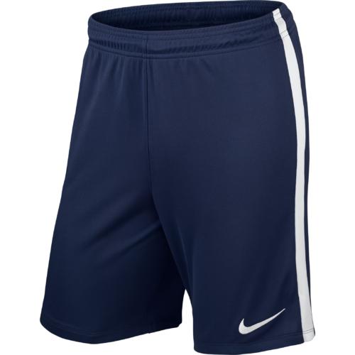Short navy League Knit