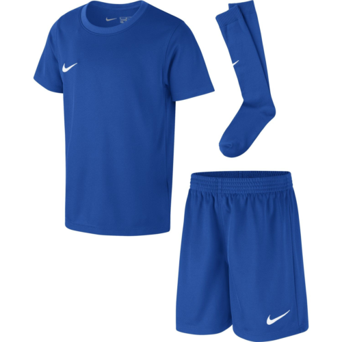 Kit Ensemble Football enfant bleu royal Park