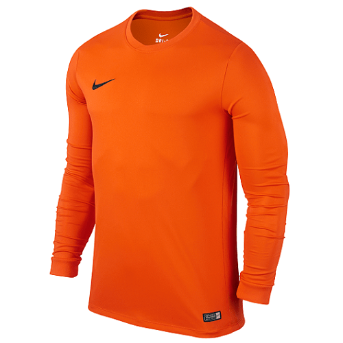 Maillot manches longues orange Dry