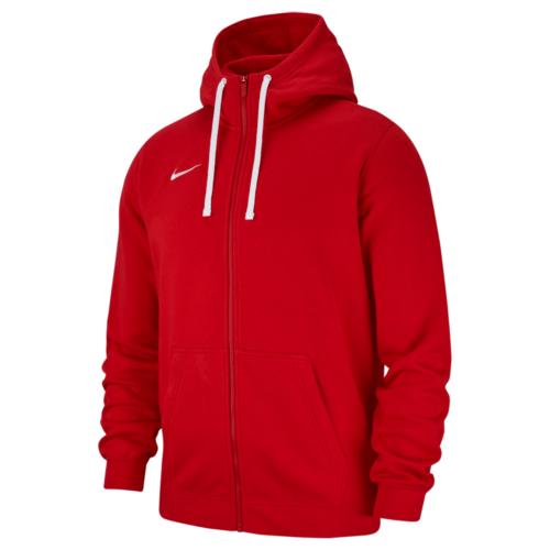 Veste à capuche zip molton rouge Club 19