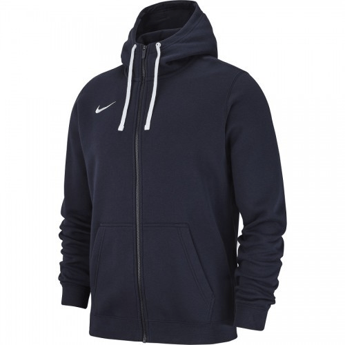 Veste à capuche zip molton navy Club 19