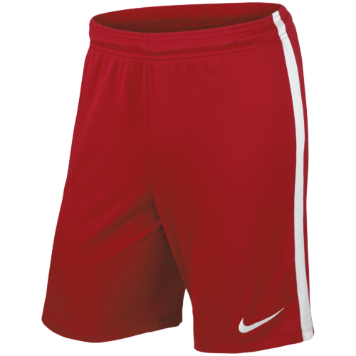 Short rouge League Knit