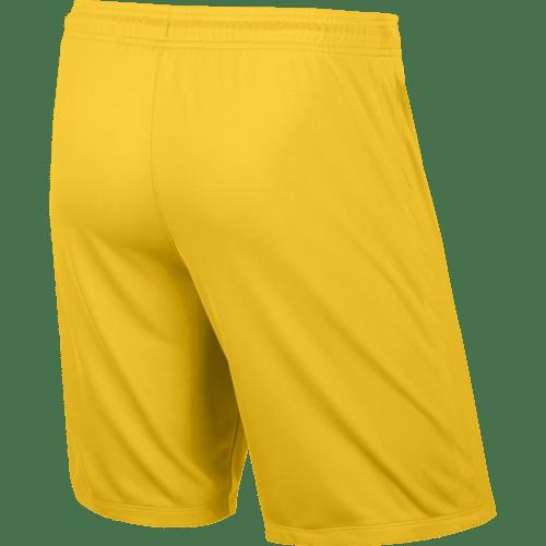 Short jaune League Knit