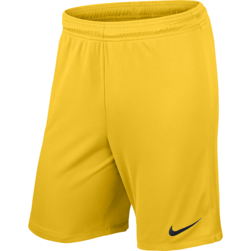 Short jaune League Knit