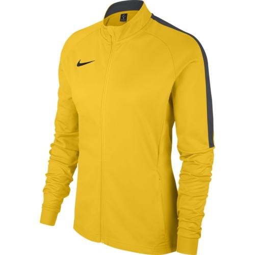 Sweat 1/4 zip femme jaune Academy 18