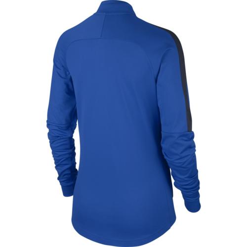 Sweat 1/4 zip femme bleu royal Academy 18