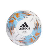 Ballon Blanc/ciel/orange