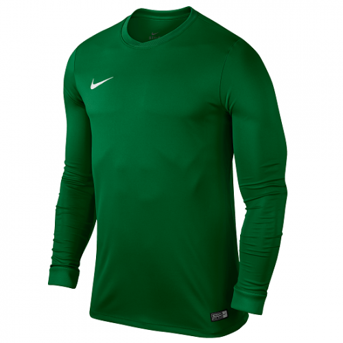 Maillot manches longues vert Dry FFF