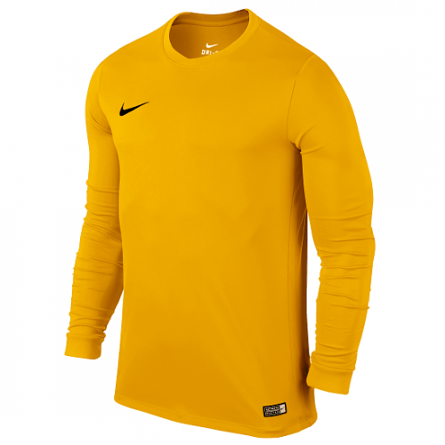 Maillot manches longues jaune Dry FFF