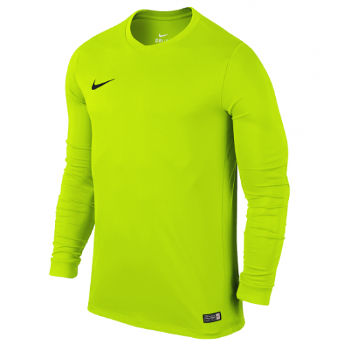 Maillot manches longues vert fluo Dry FFF