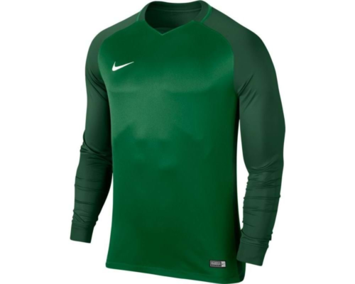 Maillot enfant manches longues Trophy III vert
