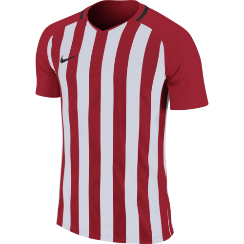 Maillot rouge/blanc Striped Division