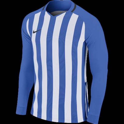 Maillot manches longues bleu/blanc Striped Division