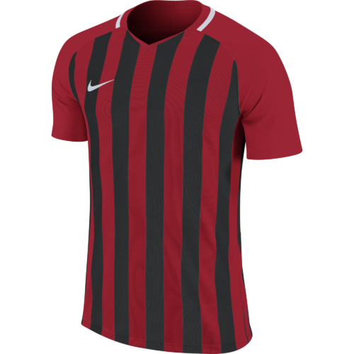 Maillot rouge/noir Striped Division