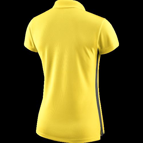 Polo jaune femme Academy 18