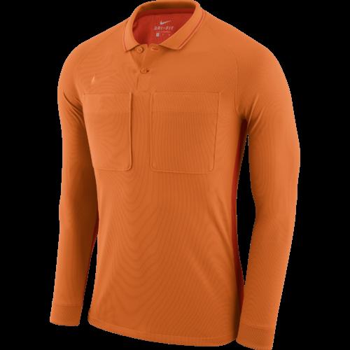 Maillot arbitre manches longues orange Dry