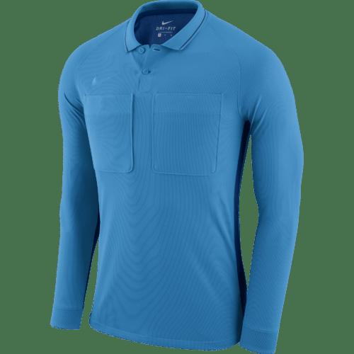 Maillot arbitre manches longues bleu Dry