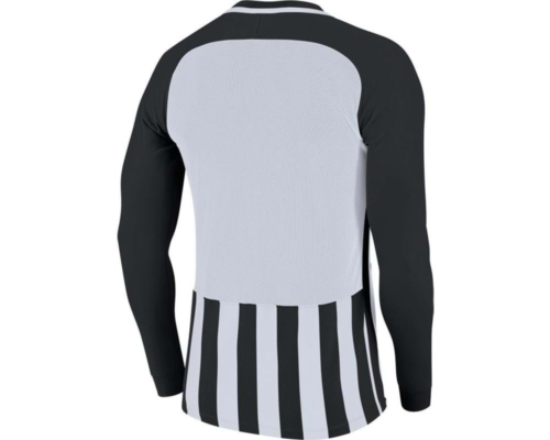 Maillot manches longues noir/blanc Striped Division