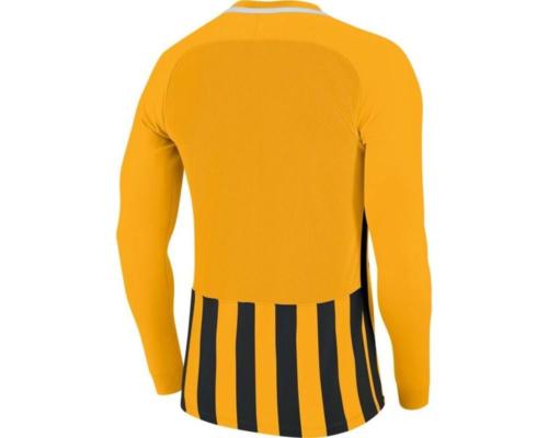 Maillot manches longues jaune/noir Striped Division