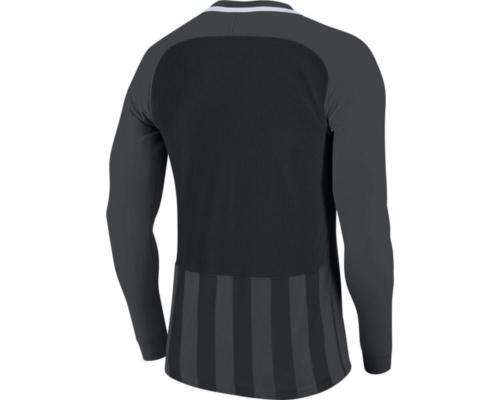 Maillot manches longues gris/noir Striped Division