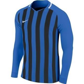 Maillot manches longues bleu/noir Striped Division