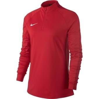 Sweat 1/4 zip femme rouge Academy 18