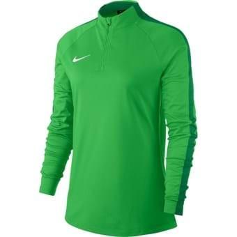 Sweat 1/4 zip femme vert Academy 18