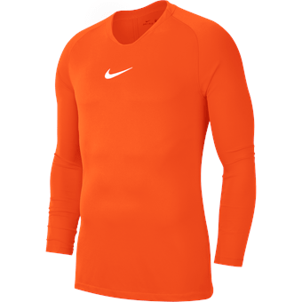 Maillot de compression orange enfant Park First