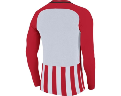 Maillot manches longues enfant rouge/blanc Striped Division III