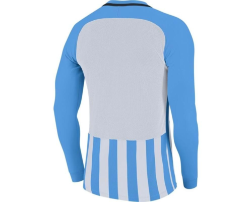 Maillot manches longues enfant ciel/blanc Striped Division III