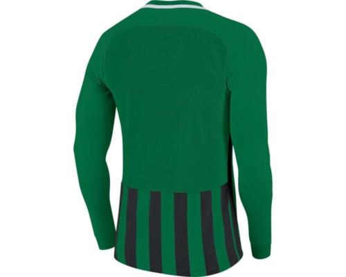 Maillot manches longues enfant vert/noir Striped Division III