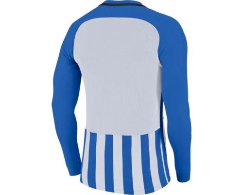 Maillot manches longues enfant bleu/blanc Striped Division III