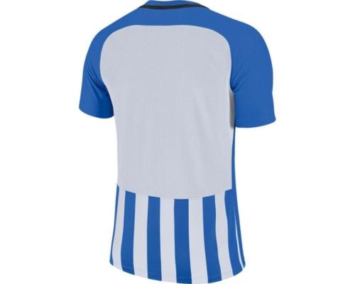 Maillot enfant bleu/blanc Striped Division III