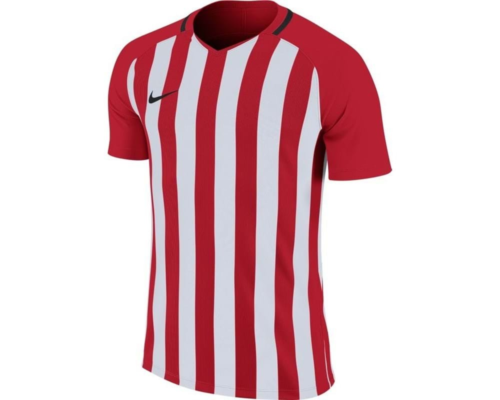 Maillot enfant blanc/rouge Striped Division III