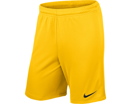 Short enfant jaune League Knit
