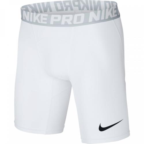 Short de compression blanc Nike pro