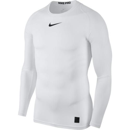 Haut de compression blanc Nike pro