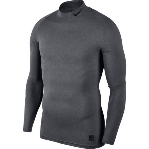 Haut de compression col gris Nike pro