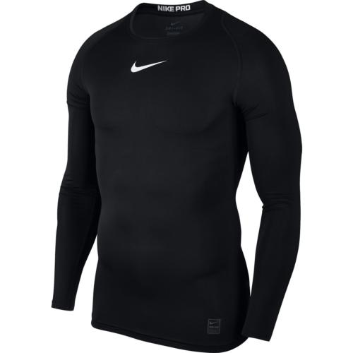 Top de compression noir Nike pro