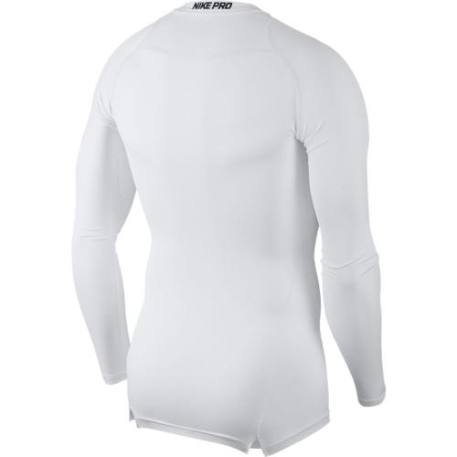 Top de compression blanc Nike pro