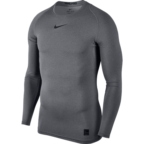 Top de compression gris Nike pro
