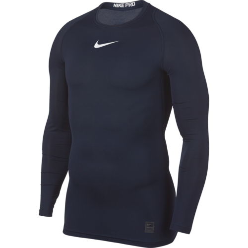 Haut de compression navy Nike pro