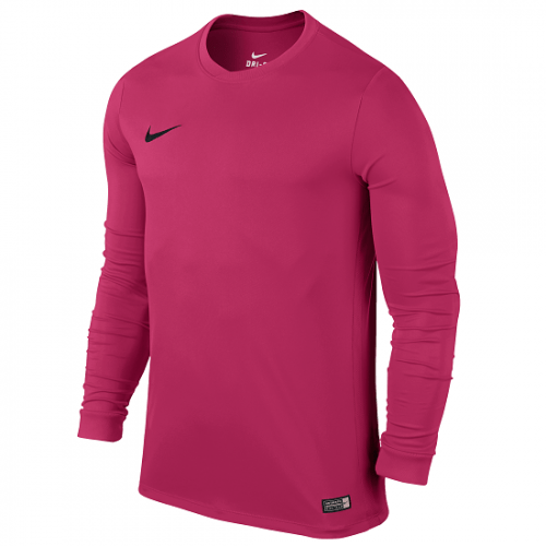Maillot manches longues rose Dry FFF