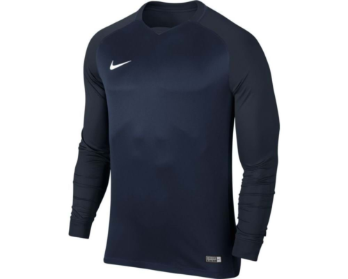 Maillot enfant manches longues Trophy III navy