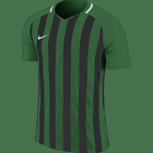 Maillot noir/vert Striped Division