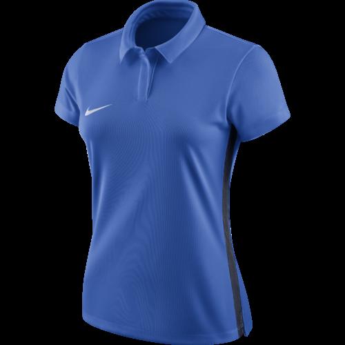 Polo bleu royal femme Academy 18