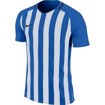 Maillot bleu/blanc Striped Division