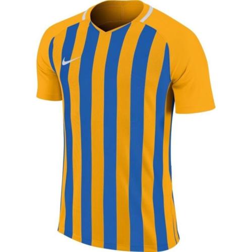 Maillot enfant jaune/bleu Striped Division III
