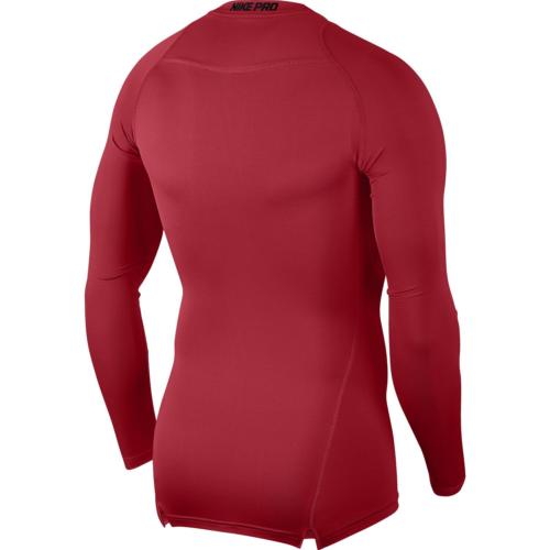 Haut de compression rouge Nike pro